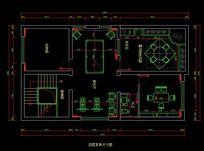 都市风格自建别墅四层家具尺寸图