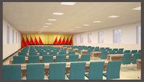 会议室装饰工程设计模板