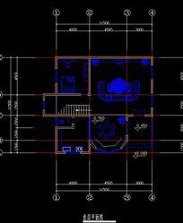 农村自建复式楼首层平面规划图图片