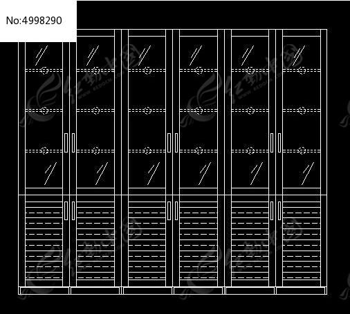现代图纸风格门书柜外立面图_CAD百叶图纸素100自建房平方v图纸图片图片