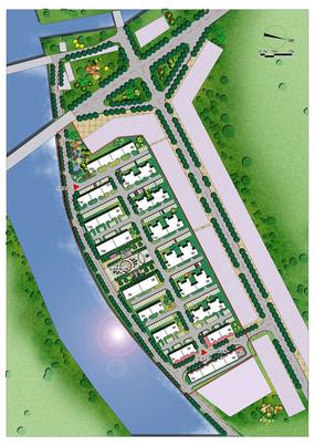 住宅小区规划总片面