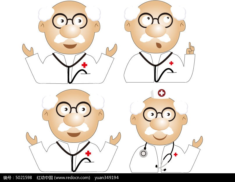 小博士卡通人物