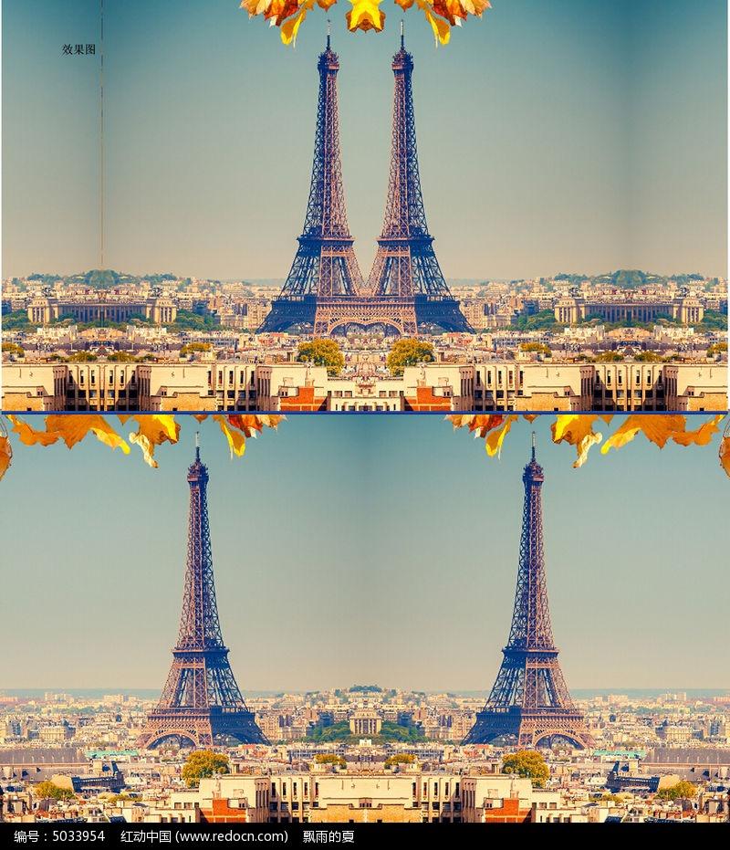 巴黎铁塔高清视频