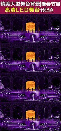 大型舞台剧罗马柱高端婚礼LED大屏幕视频素材