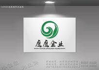 环形鹰logo标志