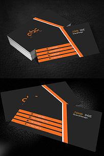 科技商务电子通信行业名片设计