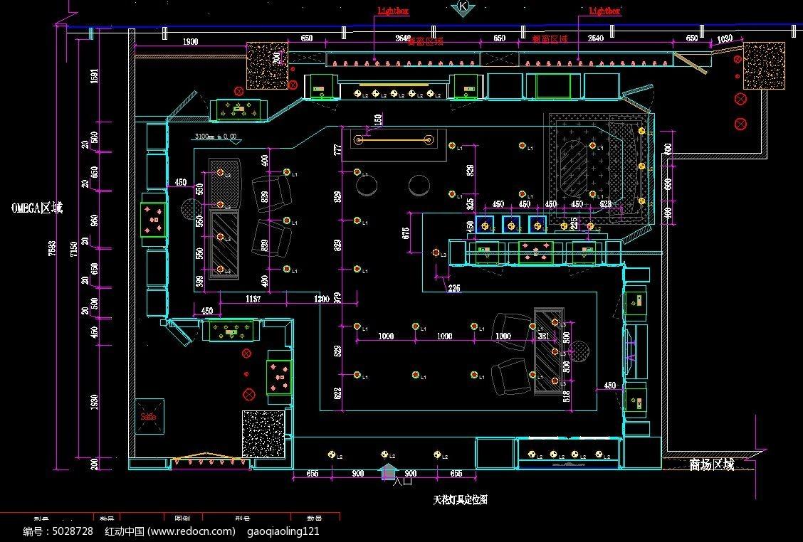 施工设计图 cad图纸 cad格式