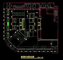 陶瓷展厅放样定位CAD图纸 CAD