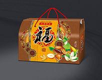 坚果礼盒平面图
