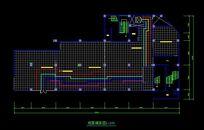 电玩城地面铺装设计图 CAD