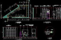 肯德基餐厅儿童娱乐及用餐区平立面设计CAD图纸 CAD