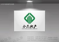 合众地产标志设计