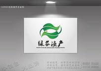 绿农渔产标志设计