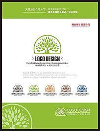 现代休闲餐饮餐厅品牌标志设计