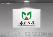 希望书屋logo设计 CDR