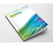 炫彩创意广告公司媒体印刷通用画册封面设计