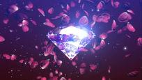 钻石花瓣视频素材