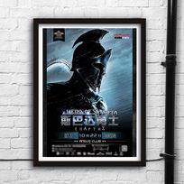 斯巴达300勇士海报设计