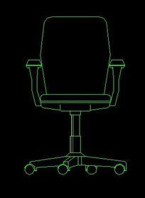 办公室转椅CAD立面v转椅斜线下载(编号:50700钢筋图纸图纸图片