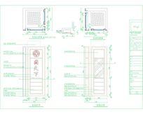南京中央商场专柜珠宝展柜cad整套图纸包括施工图