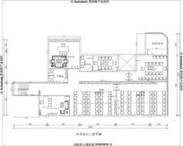 职场办公室装修办公室装修两层办公楼 CAD