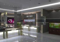 珠宝展厅包含3D文件与材质贴图