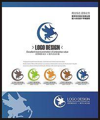 服装服饰品牌飞马标志设计