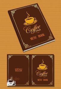 咖啡厅菜谱封面