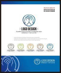 手部美容化妆品手部护理品牌标志设计 CDR