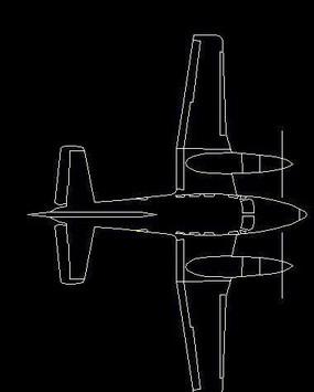 玩具飞机造型CAD设计图纸