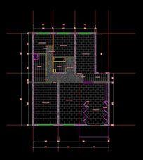 玉器店装修地面铺装设计图