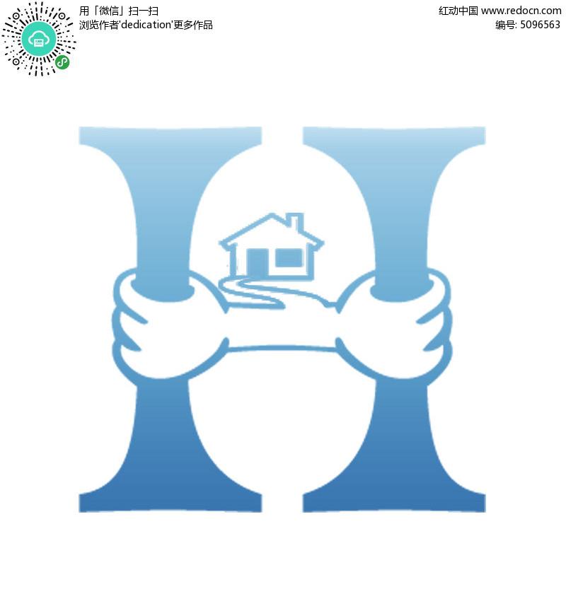 室内装修公司logo设计图片