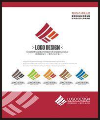 IT网络科技现代时尚标志设计 CDR