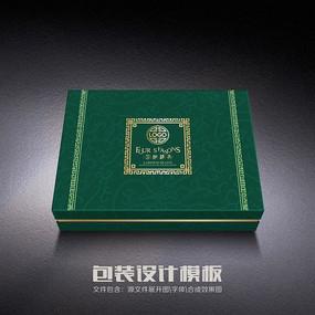 传统绿色养生包装(平面图)