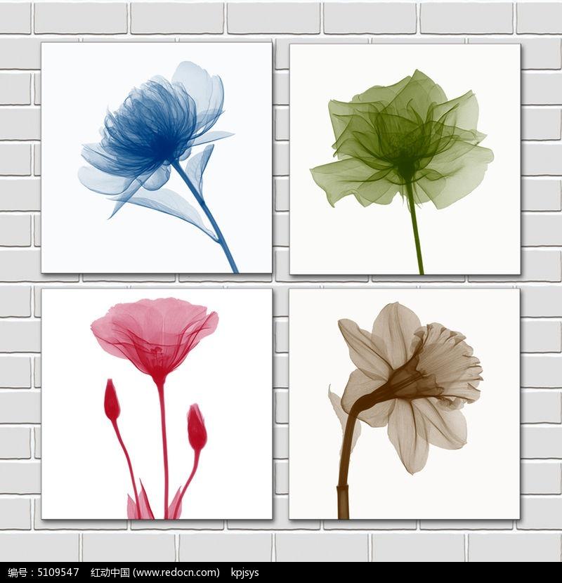 花卉欧美装饰画设计