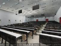 百人大型会议室布置设计素材资料