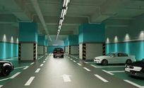 地下车库3D模型