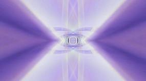 各色线条之放射隧道的视频素材