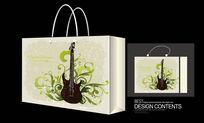 吉他图案手提袋