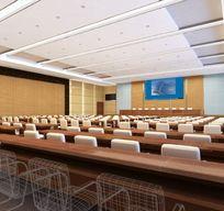 酒店大型会议室设计3D模型素材