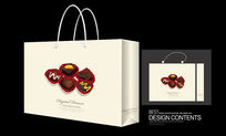 甜品巧克力包装手提袋