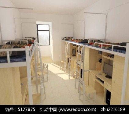 学生宿舍3d模型