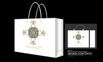高贵韩国古典花纹手提袋