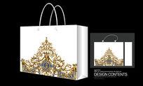 精品韩国古典环纹手提袋