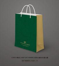 绿色化妆品手提袋设计