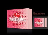 心型包装盒