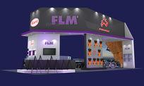 FLM摄影器材展览会展台设计方案3D模型