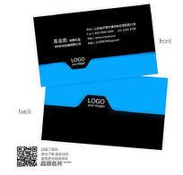 黑蓝创意科技名片