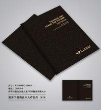 黑色商务画册封面设计