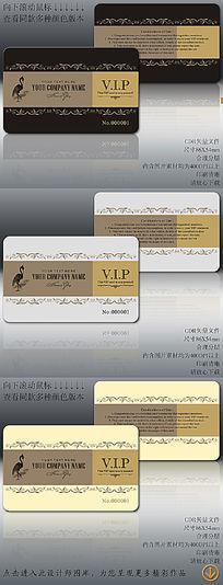 简欧高档VIP卡简洁高档VIP卡